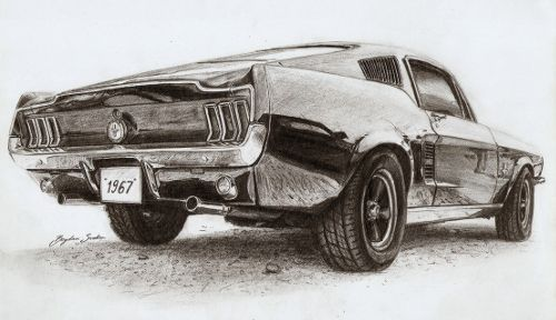Hyperrealistic Car Drawings In Pencil Google Search Drawings