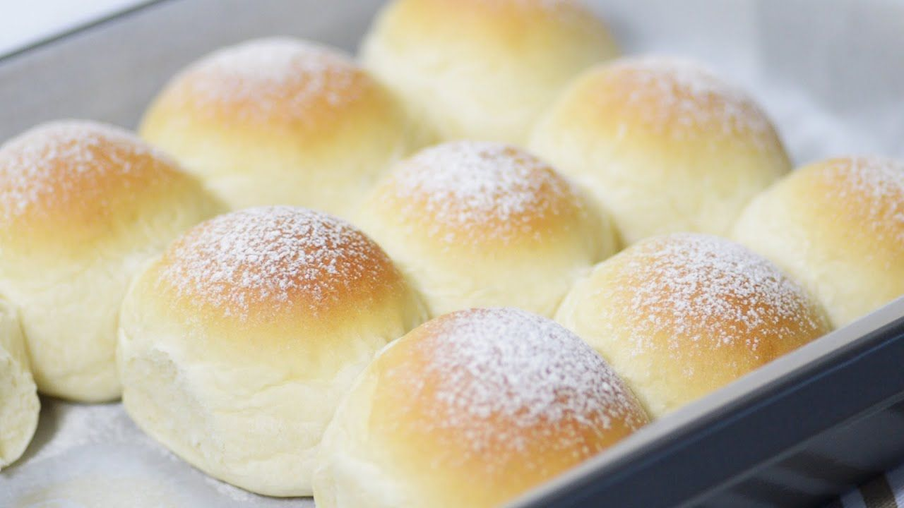 Fluffy And Soft Milk Bread 牛奶面包 Youtube In 2020 Bread Condensed Milk Recipes Ingredients Recipes