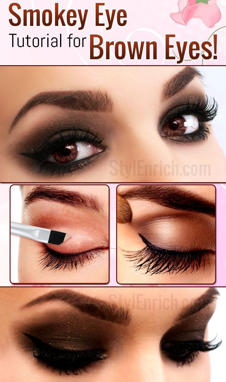 smokey eye makeup : how to do smokey eye makeup for brown eyes