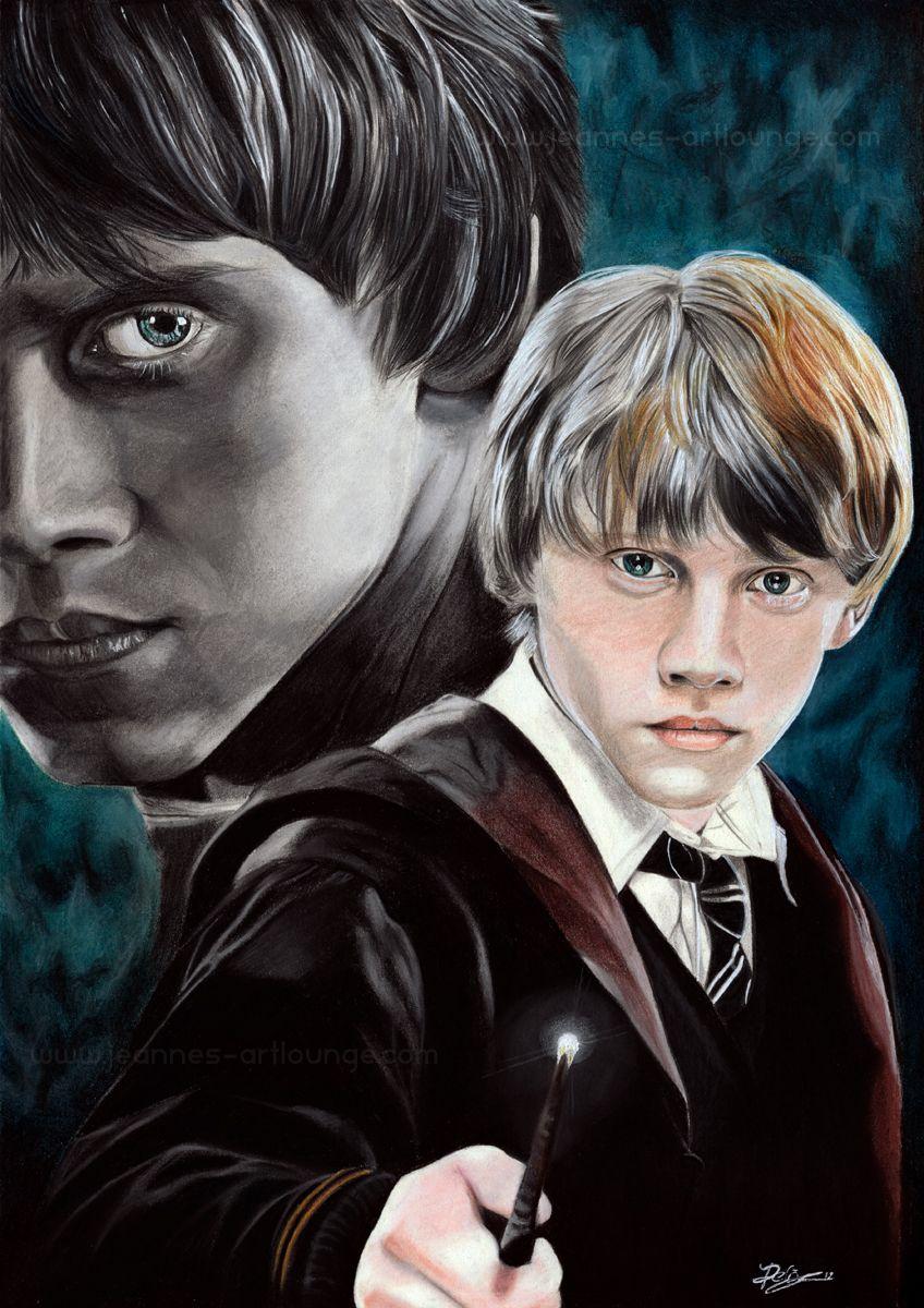 Ron Weasley by Jeanne-Lui.deviantart.com on @deviantART ...