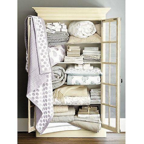 Ava Block Print Quilt Bedding - Lavender