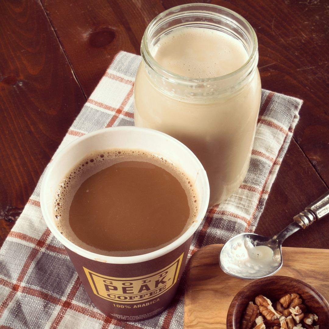 Elevate your coffee with this sweet creamer recipe using