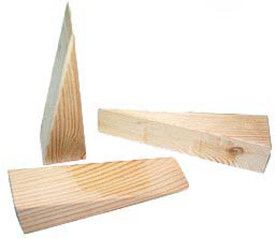Wood Door Chocks (Single)  sc 1 st  Pinterest & Wood Door Chocks (Single) | home improvements | Pinterest | Wood ... pezcame.com