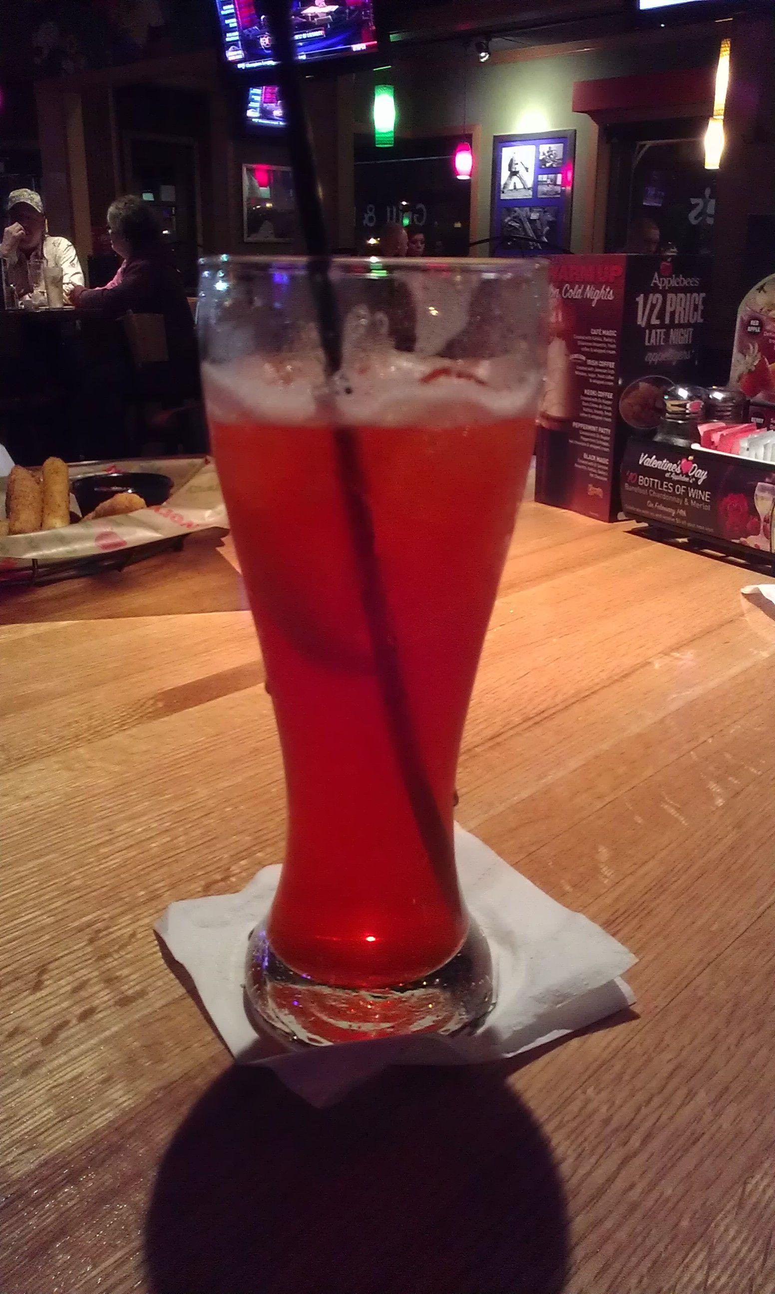 Strawberry Long Island Ice Tea From Applebee S Are Delicious Long Island Iced Tea Healthy Potato Recipes Summer Drinks