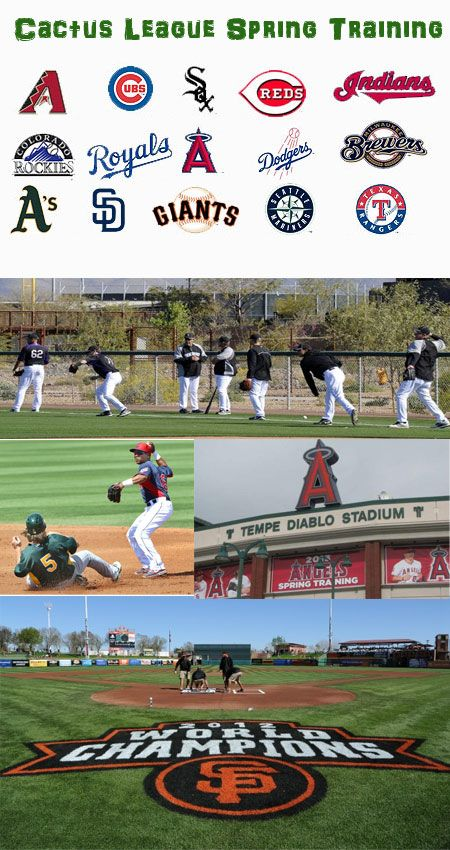 Cactus League Spring Training Guide Spring Training Arizona Spring Training Baseball Mlb Spring Training