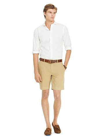 a1a011132f Straight Cotton Chino Short - Polo Ralph Lauren Shorts - RalphLauren ...