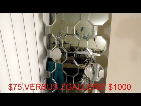 Easy Dollar Tree Diy Zgallerie Mirror Diy Zgallerie Axis