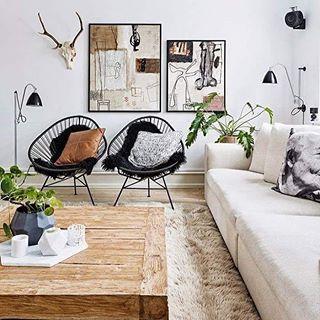 Modern boho living room ❤️