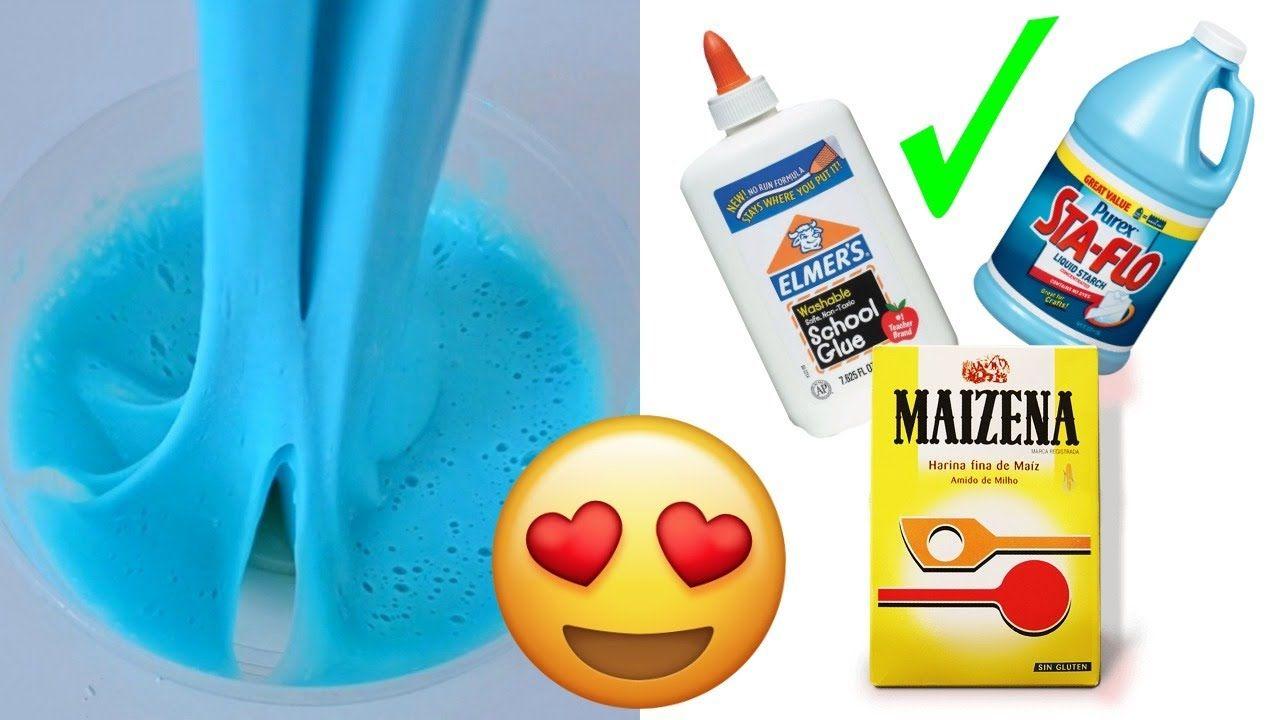Slime Casero Con Maizena Y Jabón Sin Borax Priscila Youtube Como Hacer Slime Casero Slime Casero Sin Borax Cómo Hacer Slime