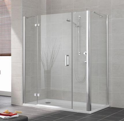 R sultat de recherche d 39 images pour douche paroi verre - Vitre pour baignoire ...