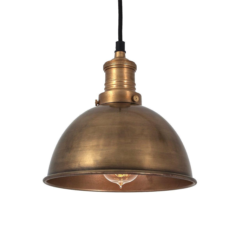 Cincinnati industrial brass pendant light 8 fruugo