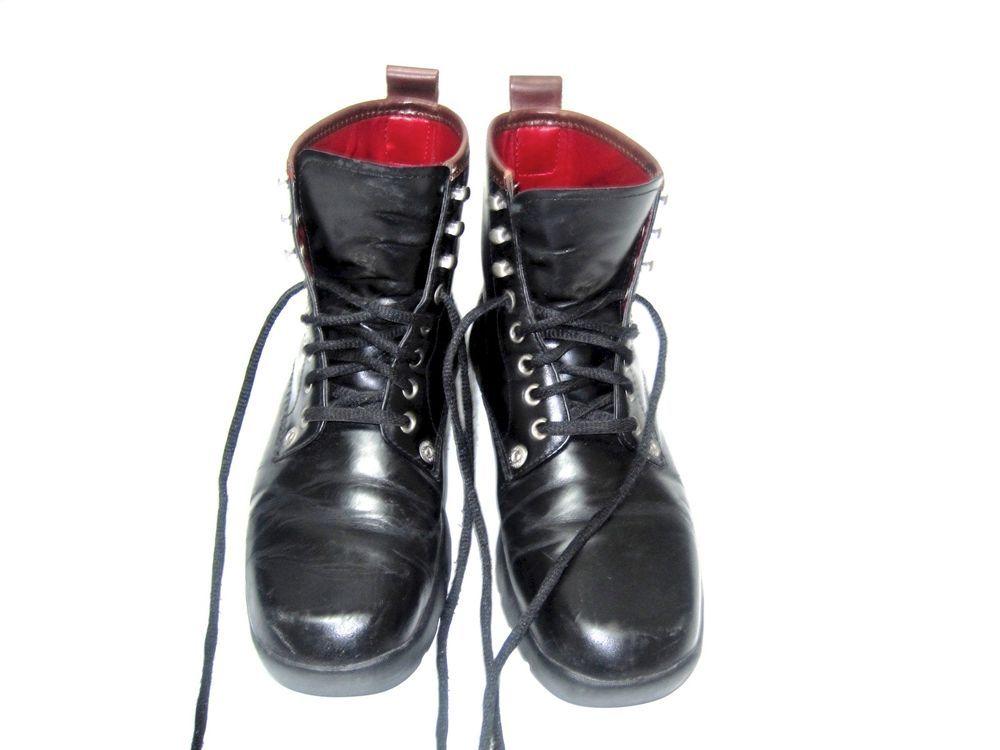 Tommy Hilfiger Women's Black Lace Up Ankle Boots Size 8M - W-20591 #TommyHilfiger #FashionAnkle