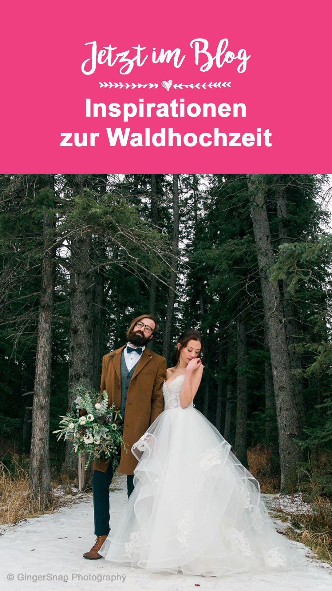 Waldhochzeit Tipps Ideen Beispiele Fur Eure Hochzeit Im Wald Hochzeit Wald Hochzeit Kleid Hochzeit