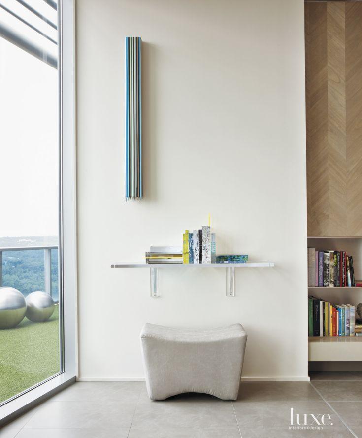 Modern White Living Room Art