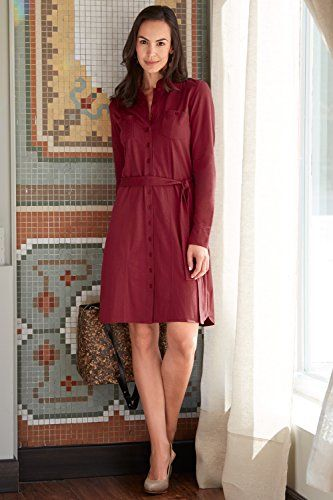 463bae358a6 Fair Indigo Organic Fair Trade Shirt Dress. Made fairly in Lima ...