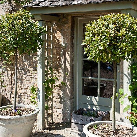 Front garden ideas pavimento de ladrillos jard n - Pavimentos de jardin ...