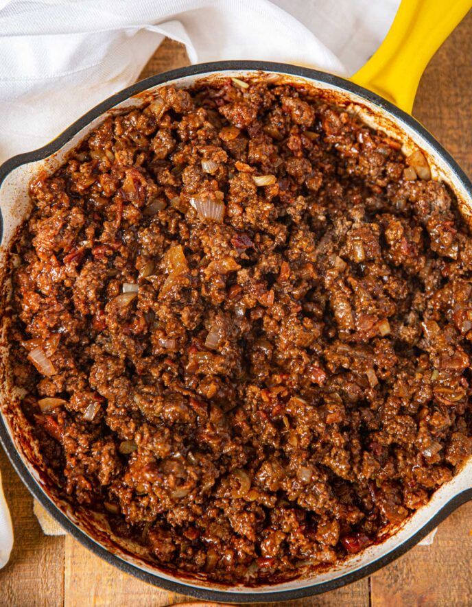 Carls Jr. Copycat Western Bacon Jr. in copycat form as a Sloppy Joe! |