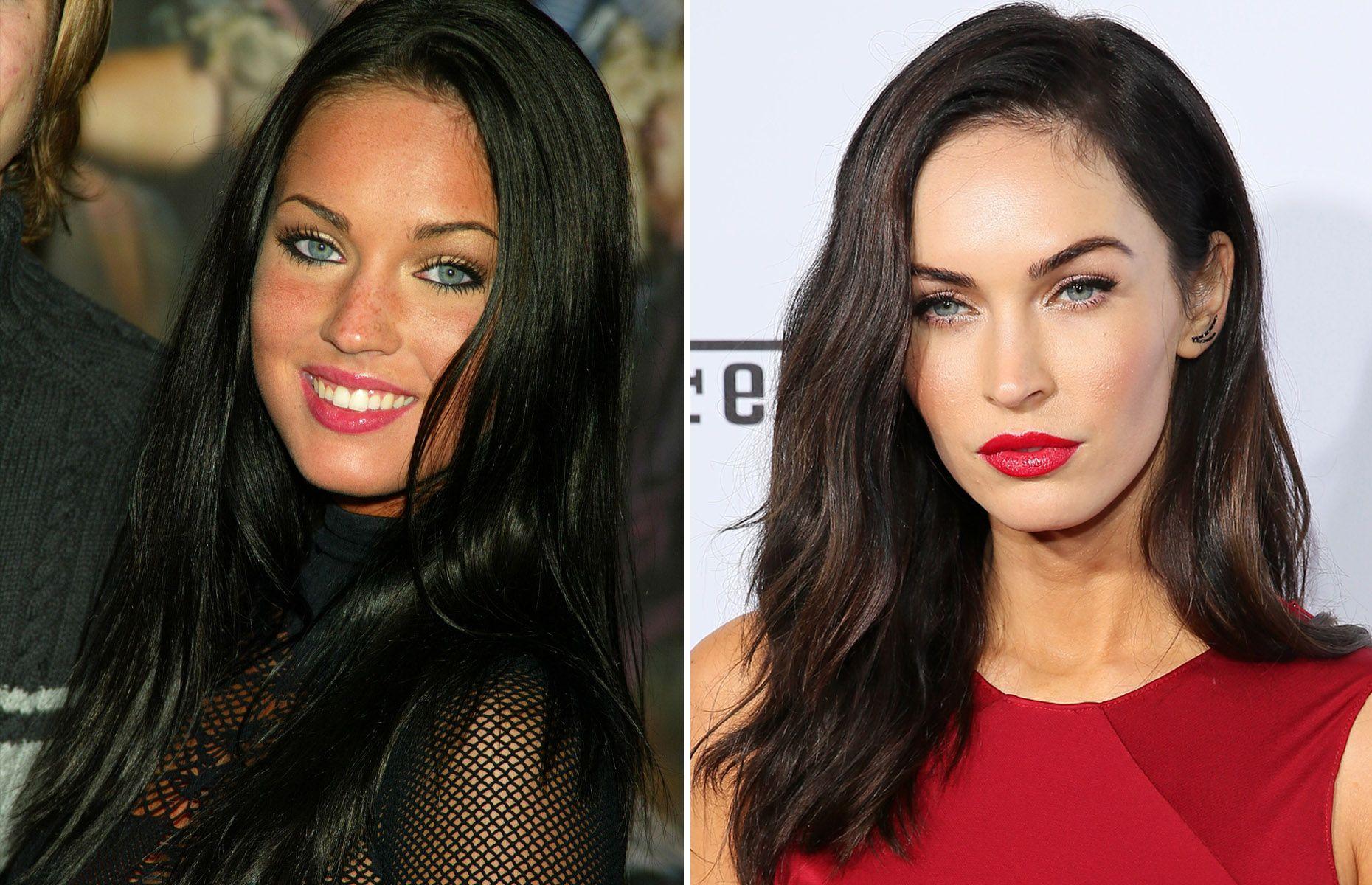 Celebridades: antes y ahora Megan Fox