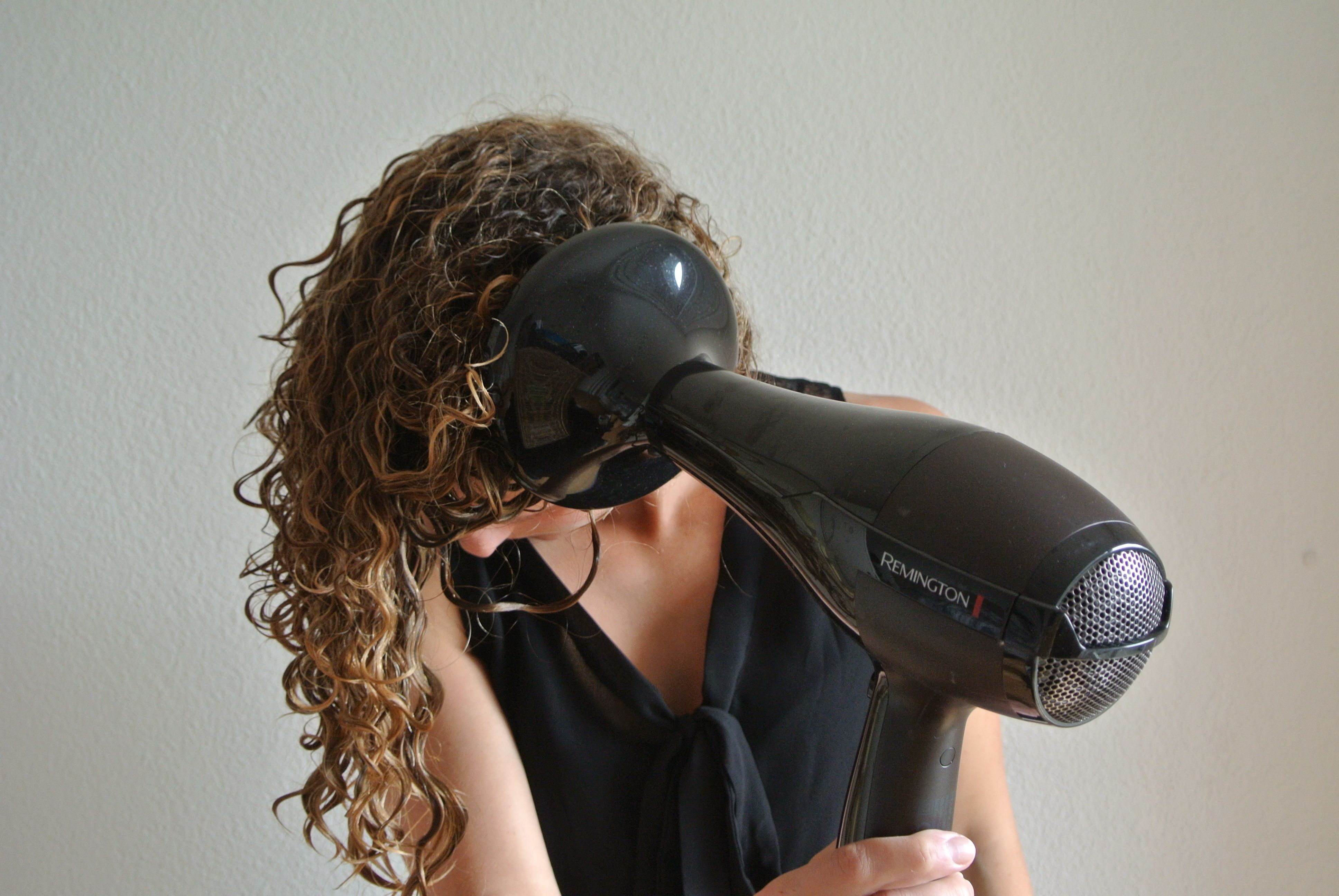 7 tips for curly girls hair diffuser blow dry curly