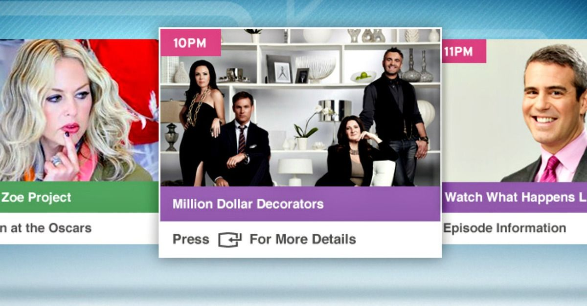 Slick New Bravo App Personalizes Your Smart TV Experience