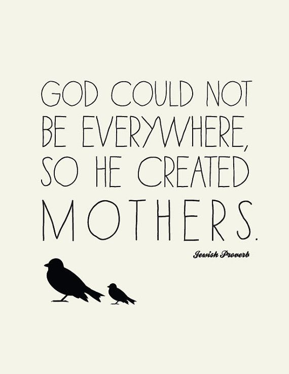Ordinaire Love Quote For Mothers // Jewish Proverb // Art By LADYBIRDINK, $18.00