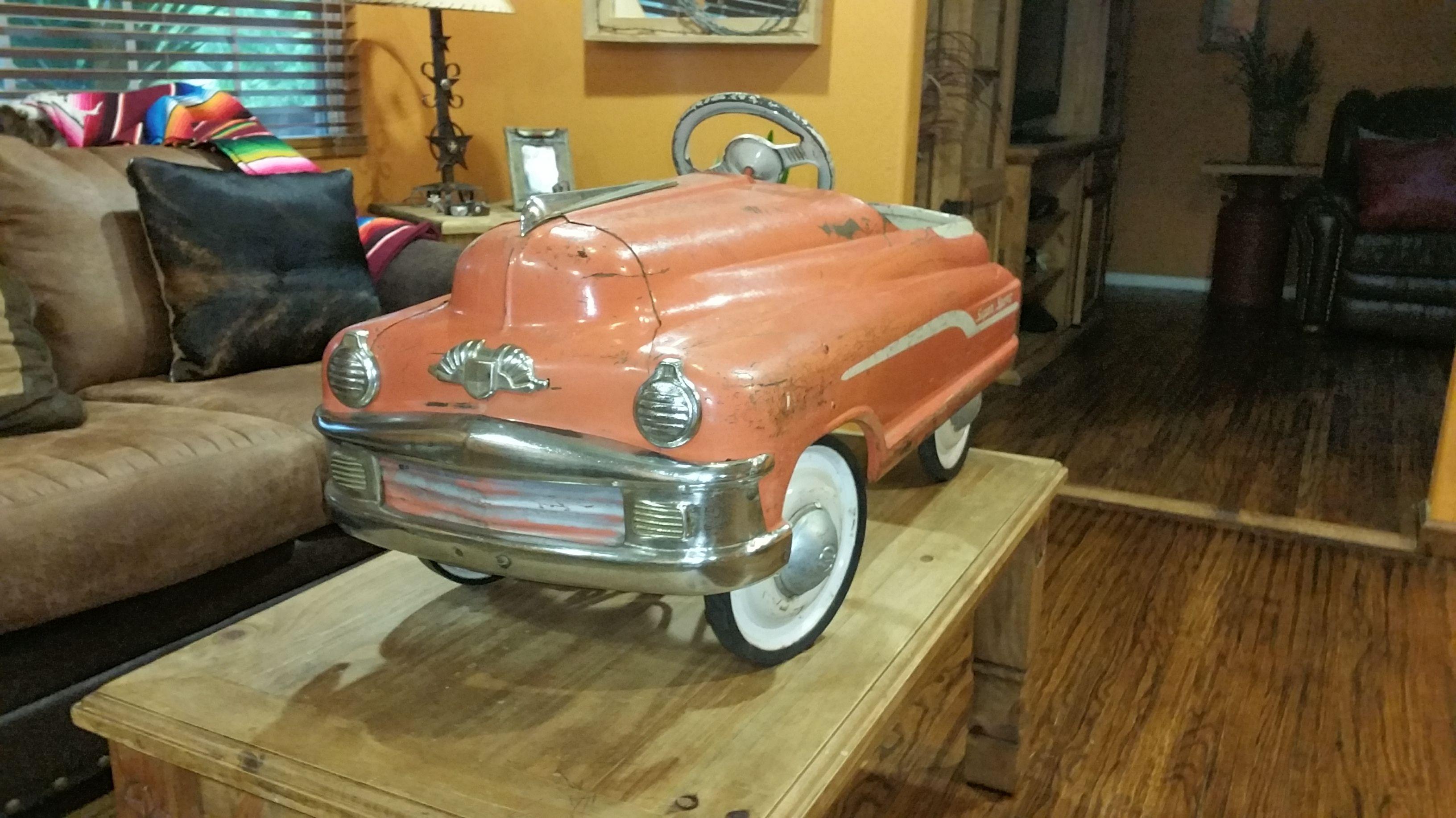 Pin On Original 1950s Murray Torpedo Super Sport Pedal Car