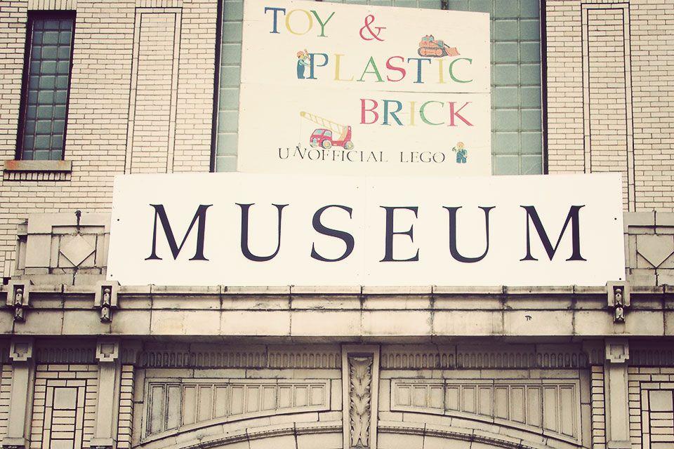 Toy Plastic Brick Museum In Bellaire Ohio Museum Brick Bellaire