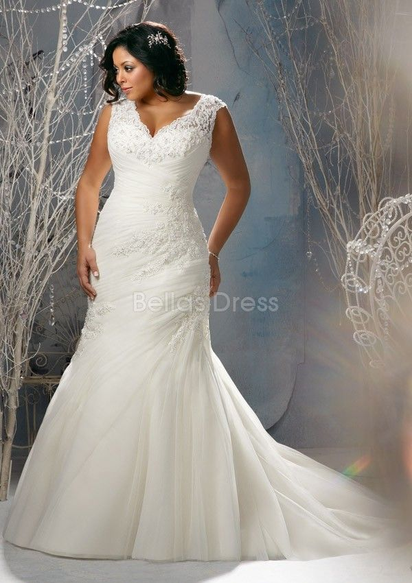 Unique Plus Size Wedding Dresses Length Plus Size Wedding