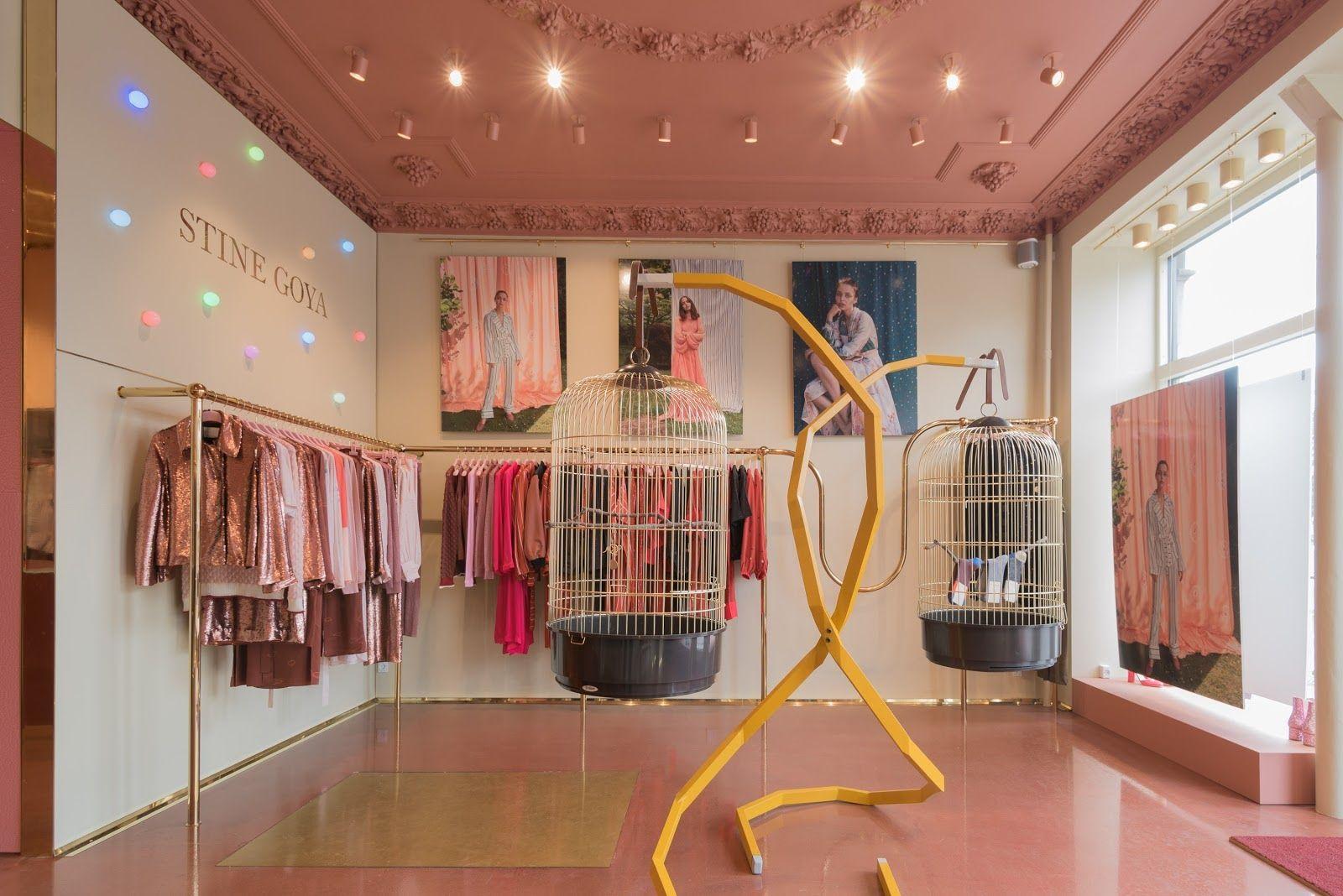 We designed this flagship store for Stine Goya Studio on Østerbrogade  @stinegoyastudio #retaildesign #interiordesign #design #interior #stinegoya #copenhagen