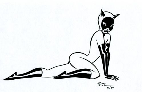 Catwoman - Bruce Timm
