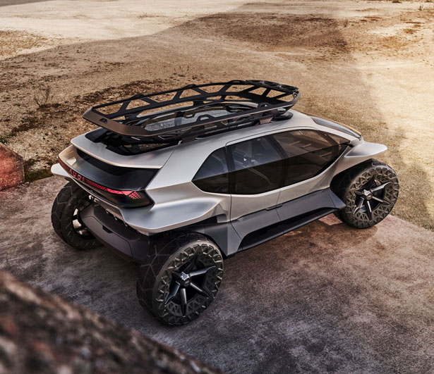Futuristic Audi AI:TRAIL Concept Car With Drones Has Been
