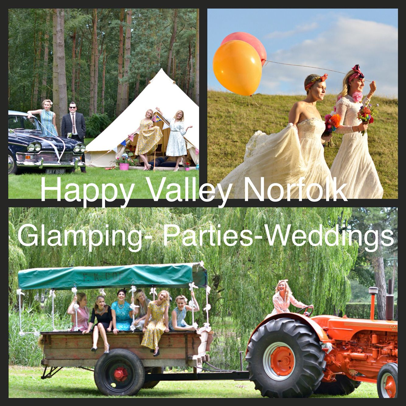 Happy Valley Norfolk Henparties Weddings Glamping Venue Northnorfolk Happydays