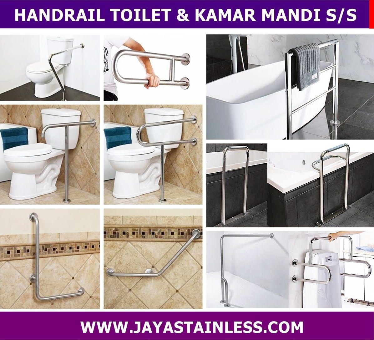 Katalog Handrail kamar mandi - pegangan toilet