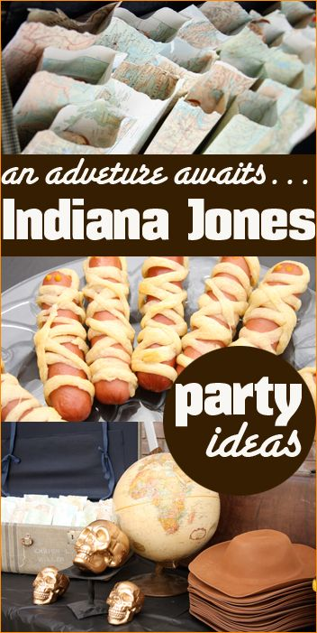 indiana jones party party film television and literatury pinterest th me cin ma. Black Bedroom Furniture Sets. Home Design Ideas