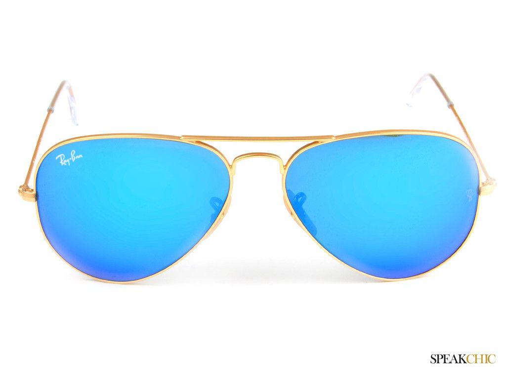 lentes ray ban azul
