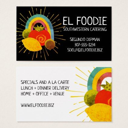 Mexican food southwest chef catering business card catering mexican food southwest chef catering business card reheart Gallery