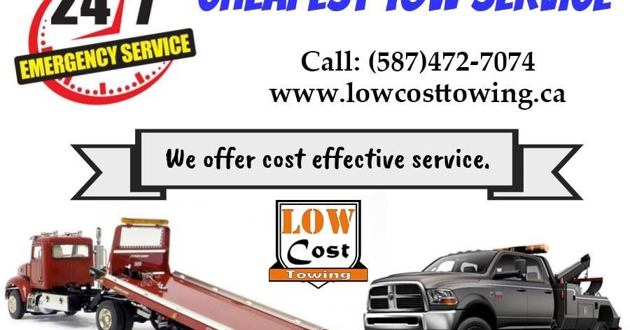 Towing Service Cost >> Alberta Low Cost Towing Provide Best Low Cost Towing