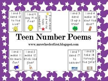 10 Best images about Teaching - TEEN NUMBERS on Pinterest | Number ...