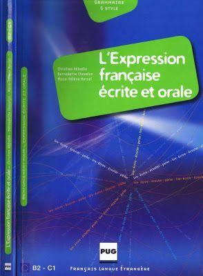 la faculté: Télécharger Gratuitement L'expression française écrite et orale en PDF