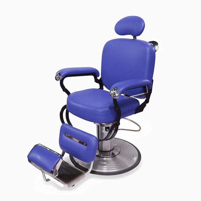 The Spider Barber Chair - SP-508S has reclining back cushions and ...