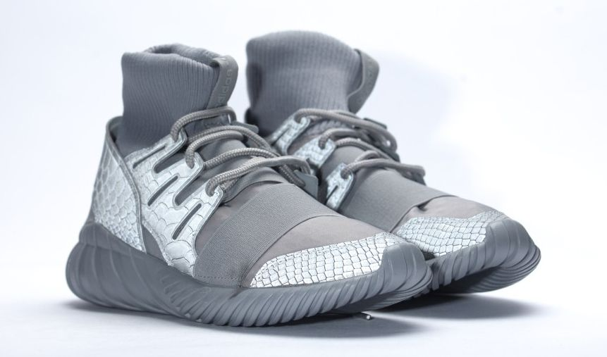 8590f0d74794 Adidas Tubular Doom Reflective Snake Grey