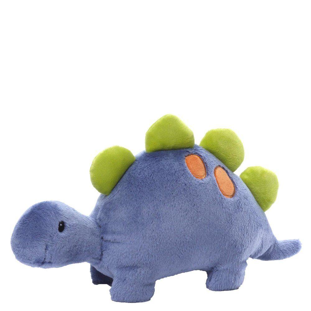 "6/"" Stegosaurus Gund Aaah Dinosaur Animal Chatter"