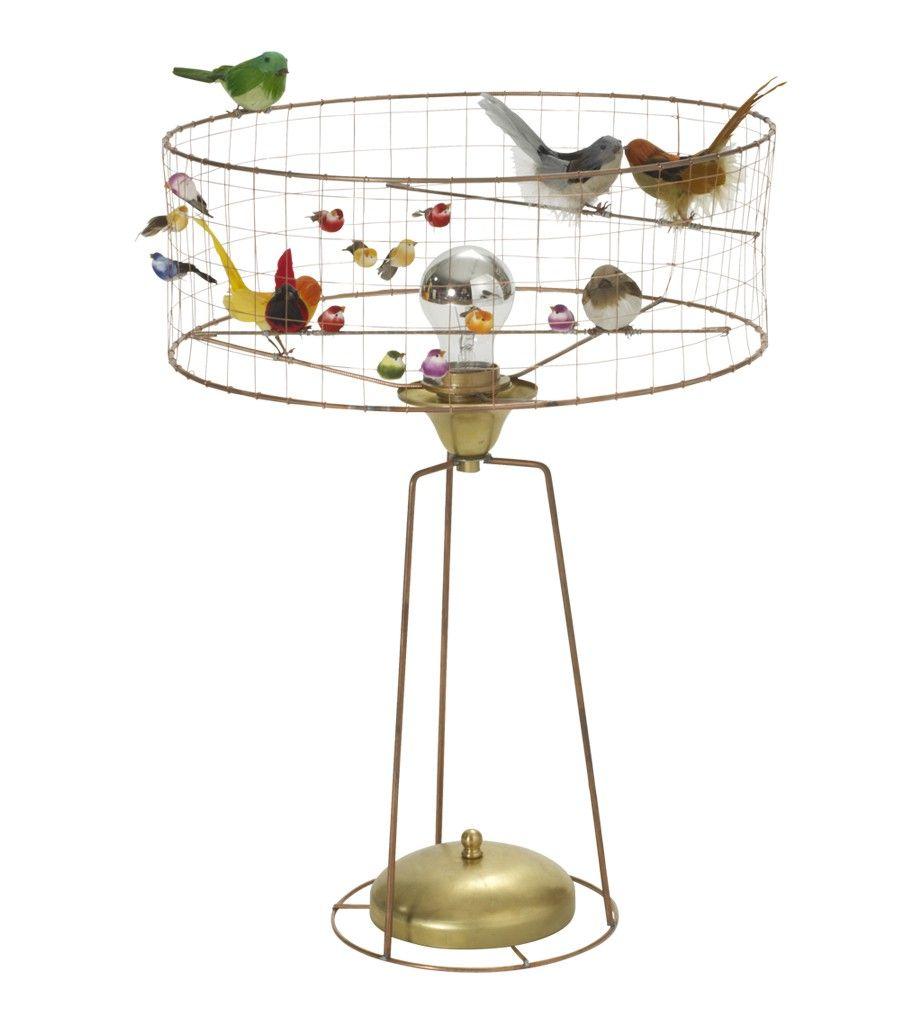 Lampe à poser ou perchoir à oiseaux ? Chez Fleux | Esprit botanique ...