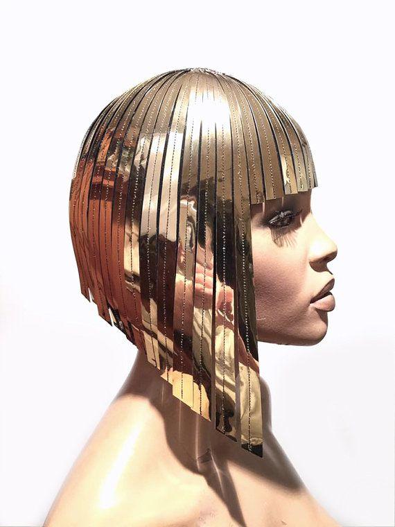 THE ORIGINAL Divamp WIG ,Cleopatra metallic