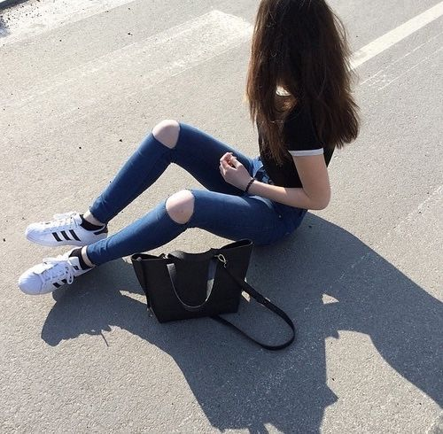 cute outfits with adidas shoes tumblr girls grunge weheartit 640