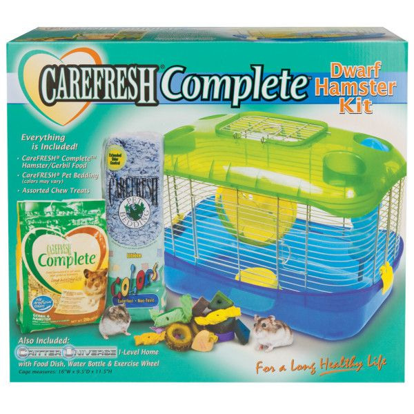 Carefresh Complete Dwarf Hamster Kit Cages Petsmart Pets