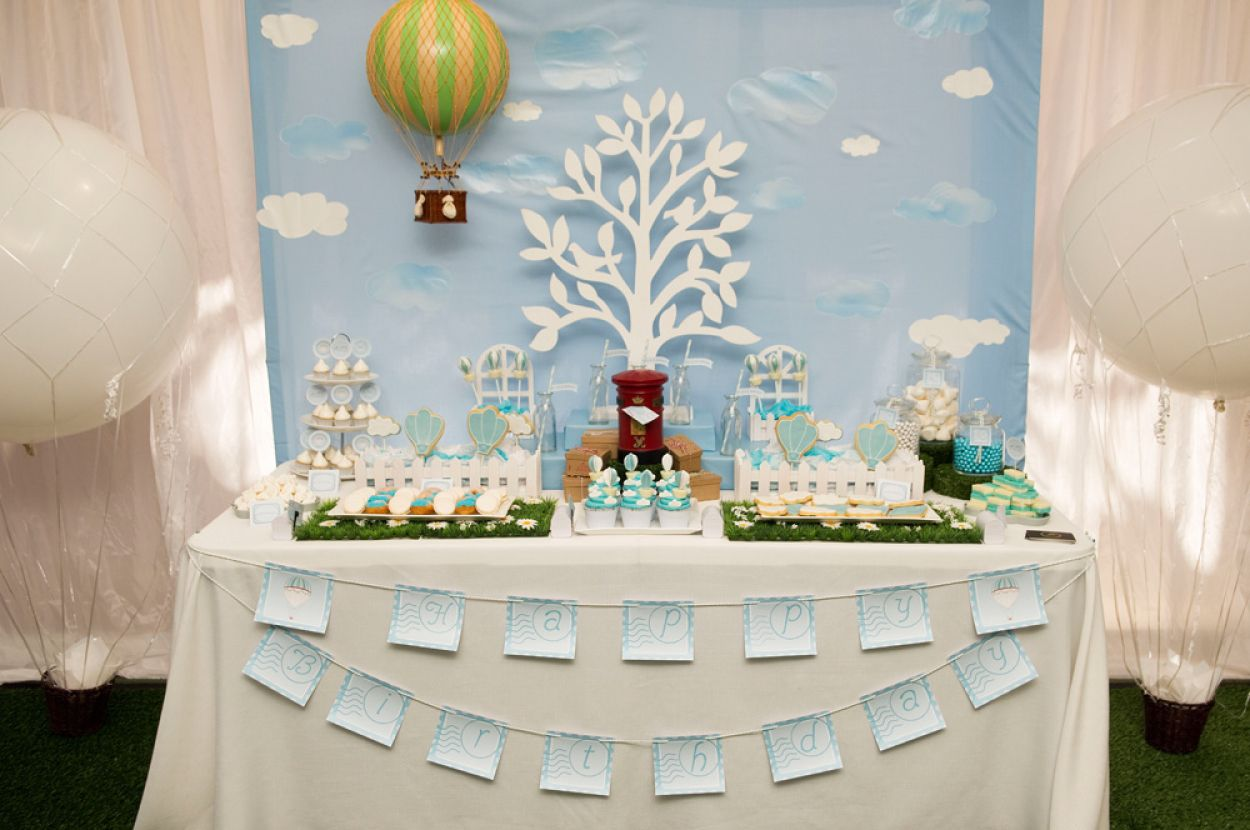Great Anders Ruff Custom Designs, LLC: A Gorgeous Hot Air Balloon Party