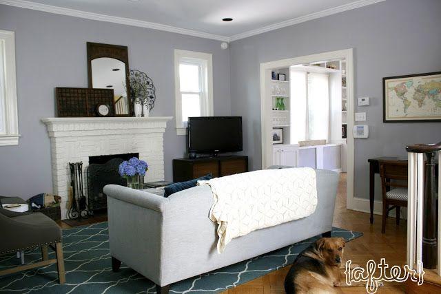 Behr Porpoise Grey Grey Wall Colour Ideas Pinterest