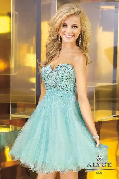Homecoming Dress from Alyce Paris Style #3571
