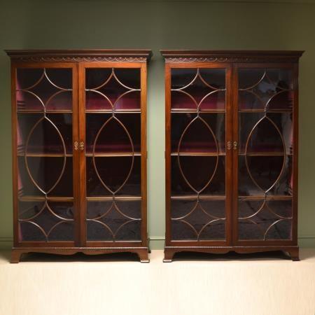 Magnificent Quality Pair Of Victorian Mahogany Antique